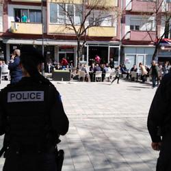 Šetalište   policija   severna mitrovica